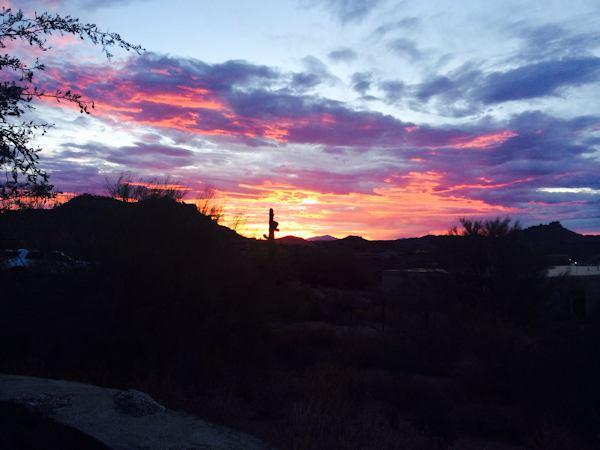"""New Day at Pinnacle Peak Park"" by Kathy Mascaro"