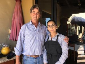 Owners Phil & Ruth Marsteller, Carvalho's Brazilian Kitchen