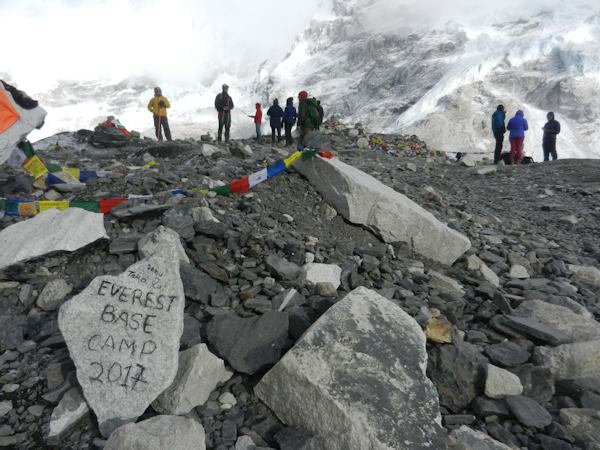 Entering Everest Base Camp Area