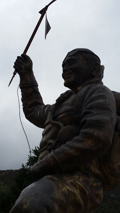 Monument to Tenzing Norgay
