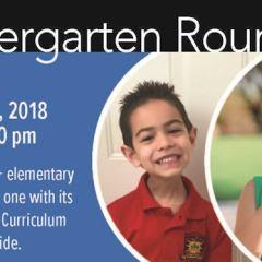 CCUSD: Parents, Kindergarten Roundup is Feb. 6th.