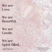 We are love .