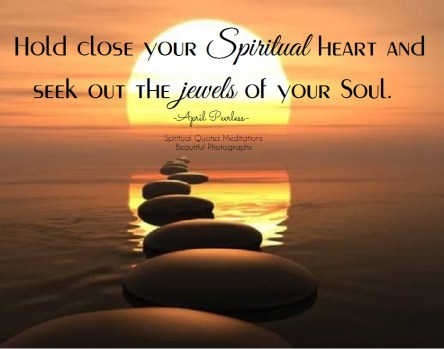 It is a material world, where everyone wants more and more things. These people are less rich than those who are poor and want for little. to be truly rich, hold close your spiritual heart and seek out the jewels of your Soul. April Peerless
