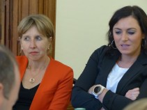 Anne Sander and Elisabeth Köstinger, MEPs and Vice Presidents of the APE