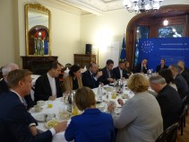 Thursday, 27 October 2016 - Breakfast with Drahoslav Stefanek, Permanent Representative of the Slovak Republic to the Council of Europe