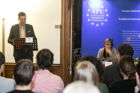 Conference with Mercedes Bresso, MEP and Vice President of the APE