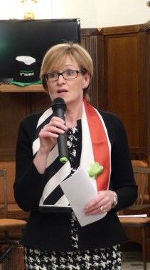 Mairead McGuinness, Irish Vice-President of the European Parliament