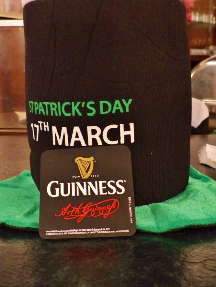 Tuesday, 8 March 2016 - Afterwork: St. Patrick's Day