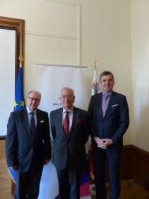 Eric Mayer Schaller, Joseph Filletti and Herbert Dorfmann