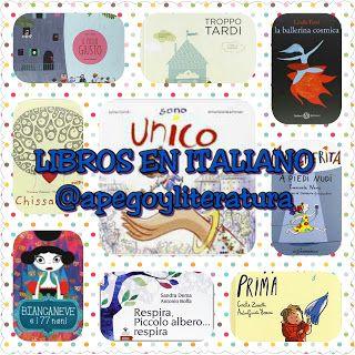Selección de libros infantiles en italiano