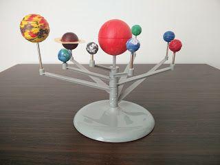 Anna Laura juega y aprende con…el sistema solar DIY