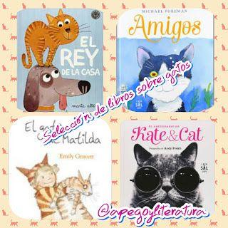 Selección de libros sobre gatos