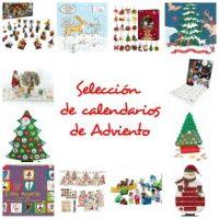Selección de calendarios y libros de Adviento