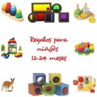 Regalos para niñ@s de 1 año (12-24 meses)