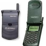 Motorola introduced the StarTAC in 1996
