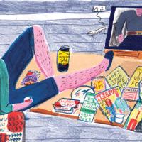 Colourful Observations by Illustrator Jayde Perkin