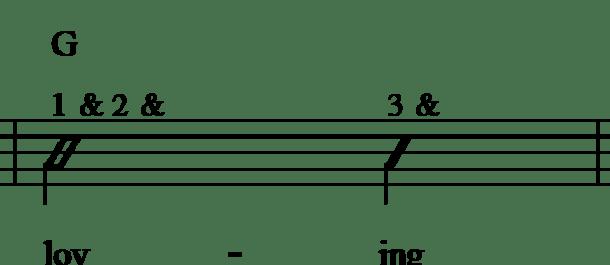 GGTOSins Measure 3 Rhythm