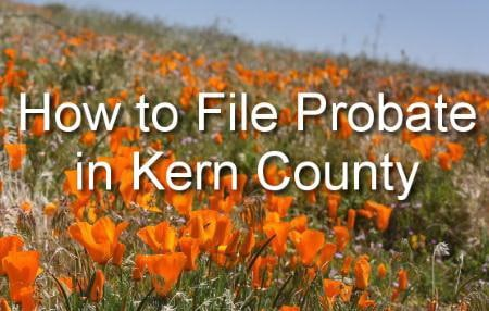how to file probate in kern county