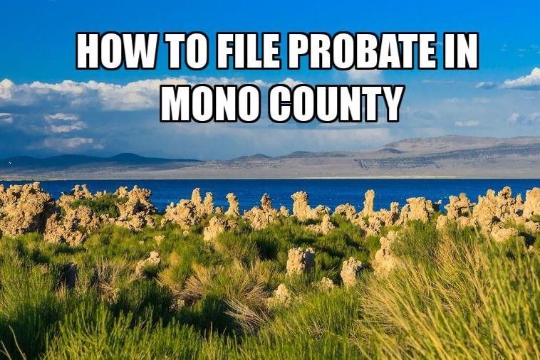 file probate in mono county