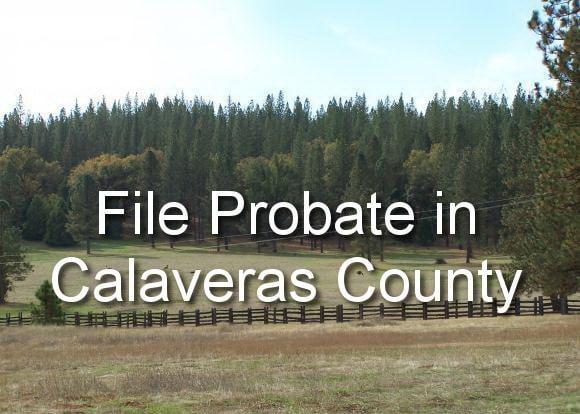 file probate in calaveras county