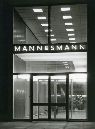 PSE, Mannesmann Hochhaus, entrée