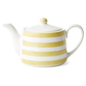 Striped Teapot, Lemon