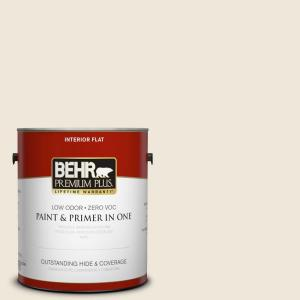 BEHR Premium Plus Mourning Dove Flat Interior Paint