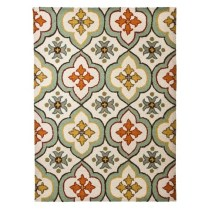 Threshol Floral Bell Hand Tufted Area Rug