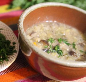 Pandela soup bowl