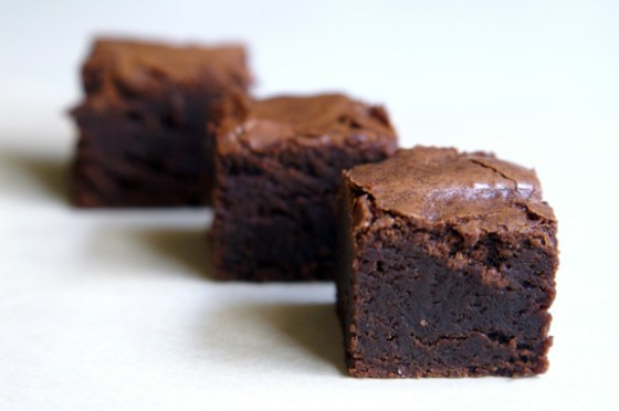 a periodic table's espresso chocolate brownies