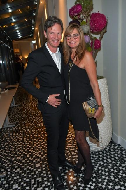 Maren Gilzer und Freund Harry Kuhlmann (Foto: Eva Oertwig/SCHROEWIG)
