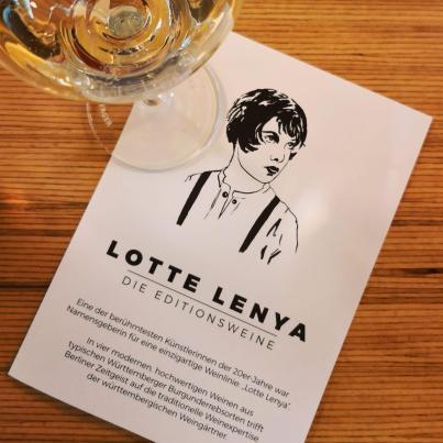Flyer Lotte Lenya