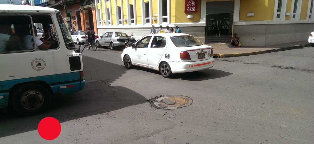 Intersection of Libertad and Atravesada streets where my hat was stolen.