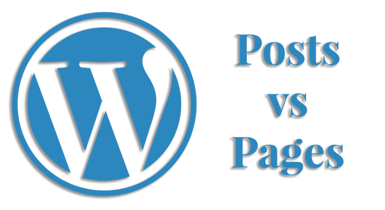 what is the difference between wordpress posts vs pages