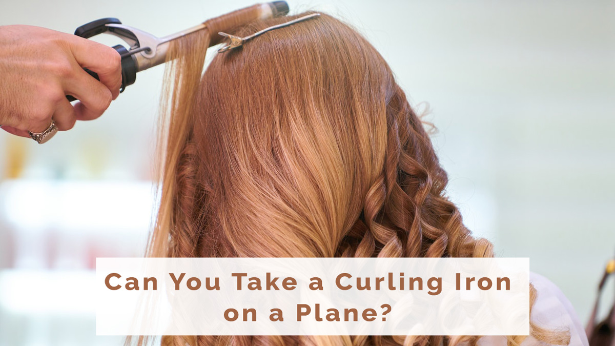 Can You Take a Curling Iron on a Plane? Cordless Butane
