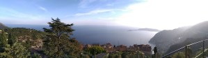 Sea view from eze village apartment rental nice