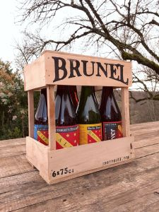 brunel bieres selection crate gift box