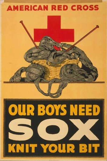 Campagne Croix Rouge américaine 1ère guerre mondiale