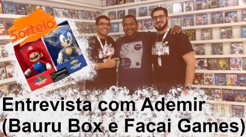 Entrevista com Ademir da Bauru Box e… Sorteio?!?!