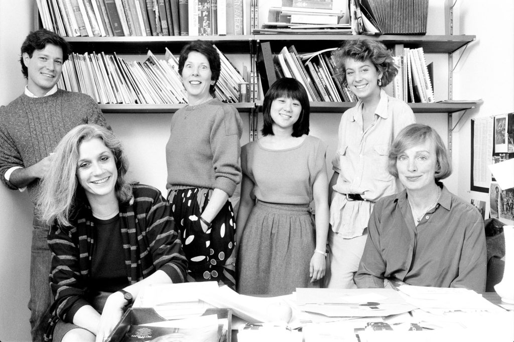 Fortune magazine photography department, 1983