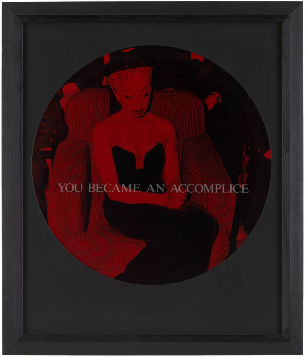 Carrie Mae Weems, You Became an Accomplice, 1995–96