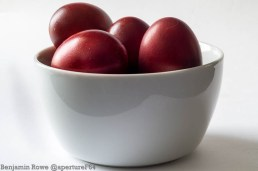 Red Onion Dyed Egg Bowl