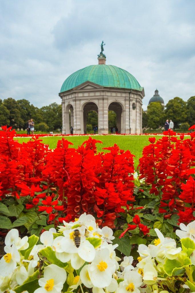 Hofgarten in Munich Germany