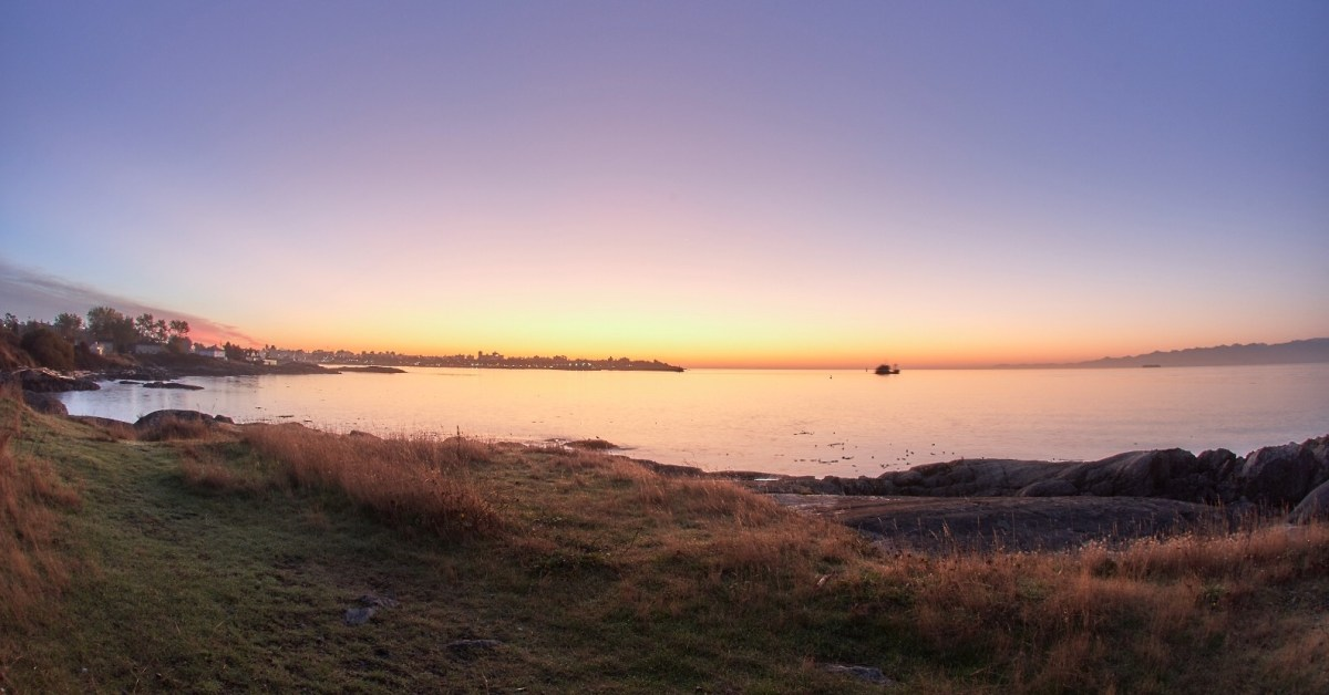 Victoria, B.C. blessed by an amazing sunrise!
