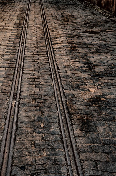 rail tracks used for loading coins to trucks