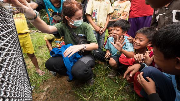 orangutan rescue IAR Borneo