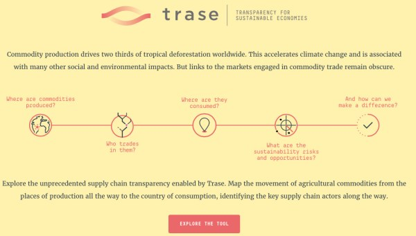 TRACE -Transparency for Sustainable Economies