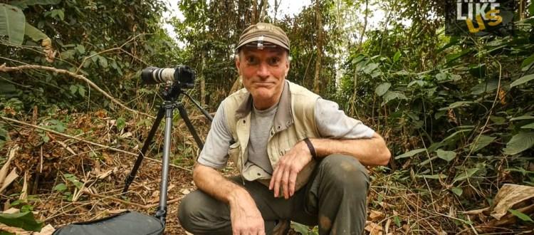 Gerry Ellis host of Apes Like Us