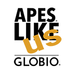 Apes Like Us | Globio logo
