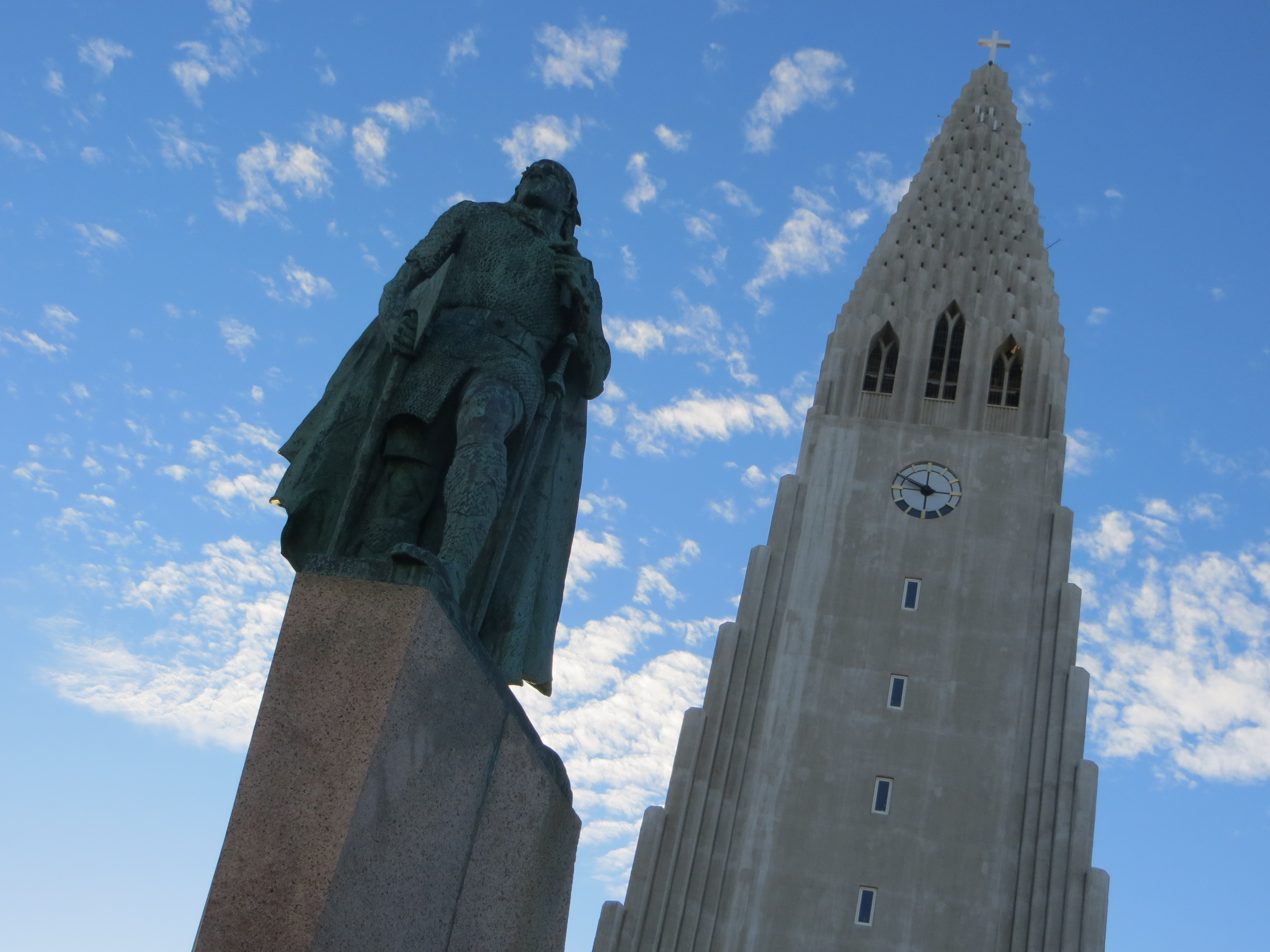 Iceland Leif Ericson The Axe Factor And The Vikings